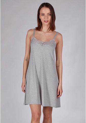 Skiny Nachthemd mit Spitzen-Details kaufen
