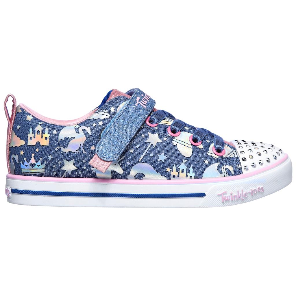 Skechers Kids Sneaker »SPARKLE LITE-PRINCESSLAND«, mit changierenden Metallic-Print