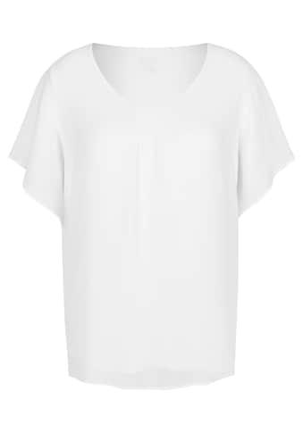 FRAPP Luftige Bluse in Lagen - Design kaufen