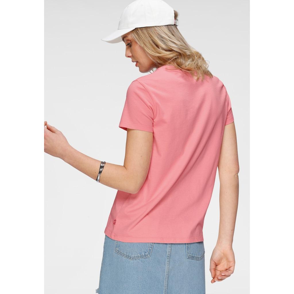 Levi's® Rundhalsshirt »The Perfect Tee«, mit floralem Batwing-Print