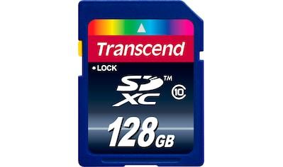 Transcend »SDXC/SDHC Class 10« Speicherkarte (Lesegeschwindigkeit maximal 25 MB/s) kaufen