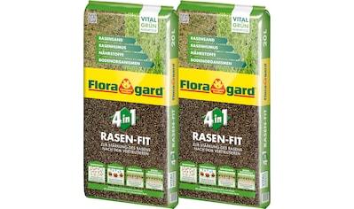 Floragard Pflanzendünger »4 in 1 Rasenfit«, je 20 l kaufen