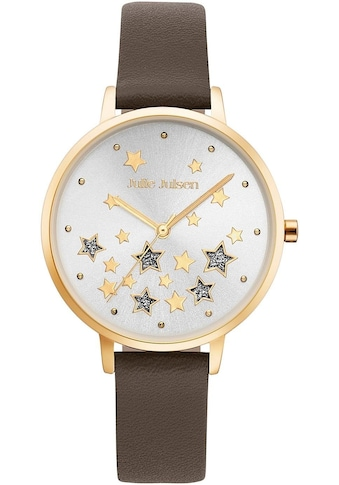 Julie Julsen Quarzuhr »STARS GOLD BROWN, JJW0926GL - 11« kaufen