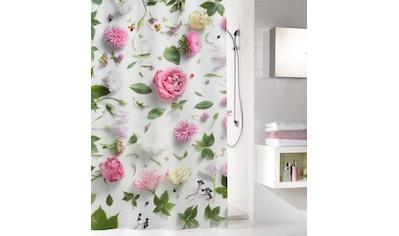 Kleine Wolke Duschvorhang »Rosalie«, Breite 120 cm, mit Beschwerungsband kaufen