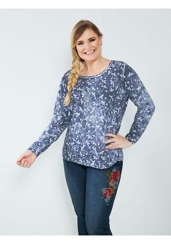 Sara Lindholm by HAPPYsize Pullover aus reiner Baumwolle kaufen