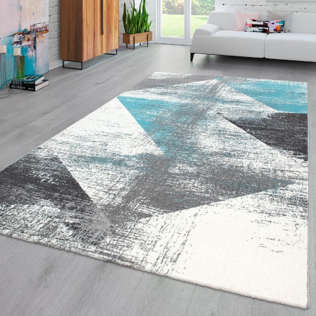 my home Teppich »Merova«, rechteckig, 17 mm Höhe, Vintage Design, Wohnzimmer