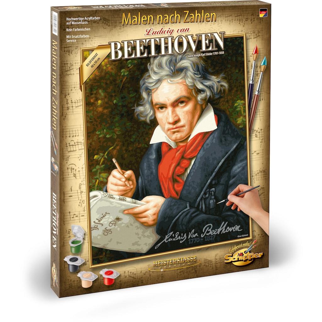Schipper Malen nach Zahlen »Meisterklasse Premium - Ludwig van Beethoven«, Made in Germany