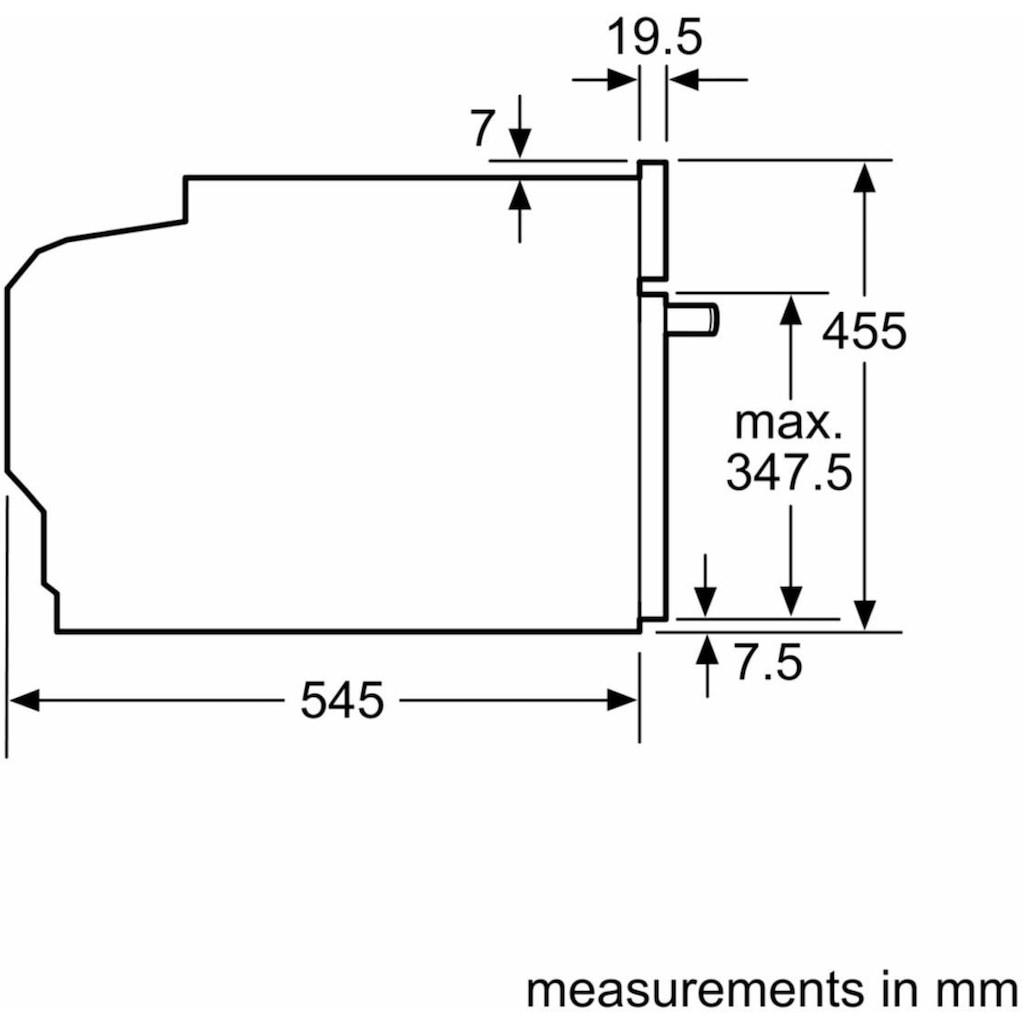 BOSCH Einbau-Mikrowelle »CFA634GS1«, Mikrowelle, 900 W