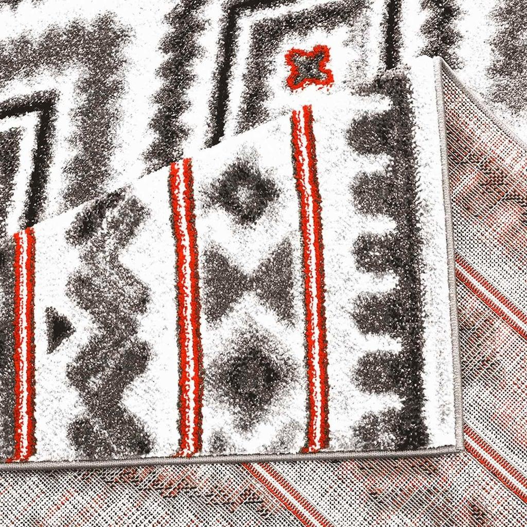 Carpet City Teppich »Moda 1129«, rechteckig, 11 mm Höhe, Kurzflor, Wohnzimmer