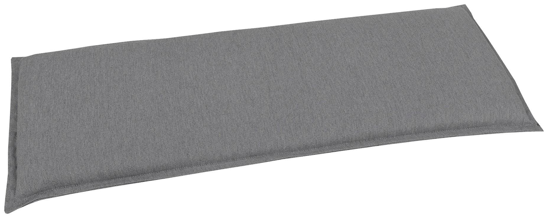 GO-DE Bankauflage, 2 Sitzer grau Bankauflagen Gartenmöbel-Auflagen Gartenmöbel Gartendeko Bankauflage