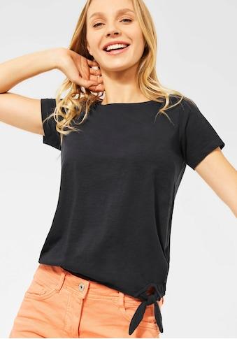 Cecil T-Shirt, mit angeschnittenen, kurzen Ärmeln kaufen