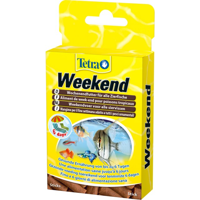 TETRA Fischfutter Sticks »Min Weekend«, 2x20 Stück