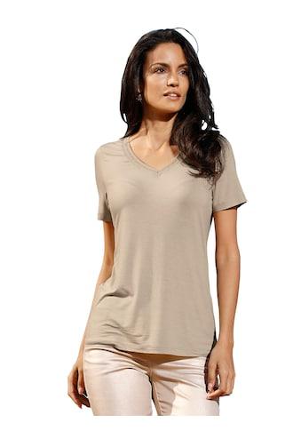 Amy Vermont V-Shirt, mit metallisiertem Garn kaufen