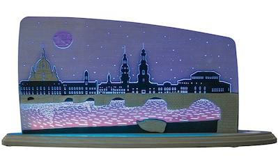 Weigla LED Dekolicht »Dresden bei Nacht«, 1 St., Neutralweiß, beidseitiges Motiv/... kaufen