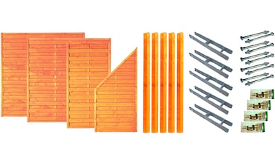 T&J Dichtzaun »San Diego 1«, 4 Elemente, LxH: 585x180 cm kaufen
