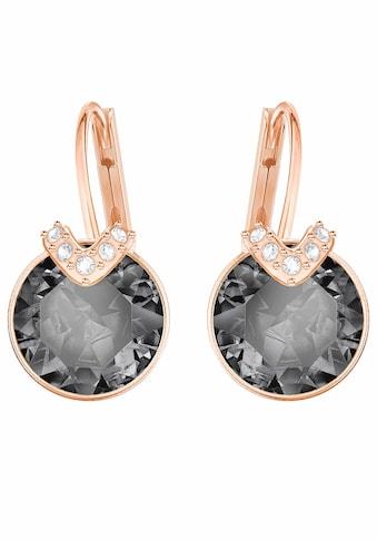 Swarovski Paar Ohrhänger »BELLA V, GRAU, ROSÈ VERGOLDUNG, 5299317« kaufen