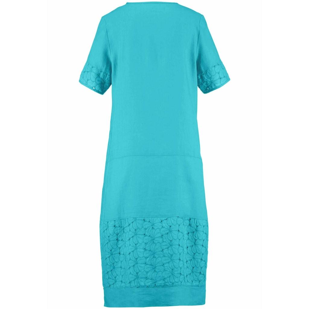 Anna Aura Abendkleid »Kleid mit 1/2-Arm«, Stickerei