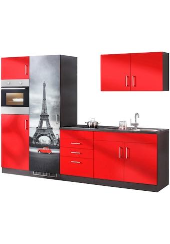 HELD MÖBEL Küchenzeile »Paris«, ohne E-Geräte, Breite 280 cm kaufen