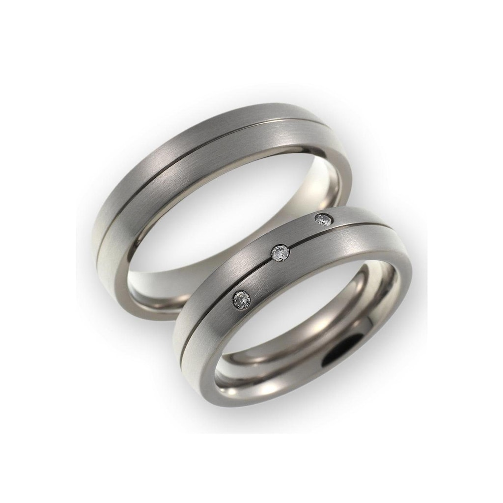 CORE by Schumann Design Trauring »20006191-DR, 20006191-HR, ST051.12«, Made in Germany - wahlweise mit oder ohne Diamanten