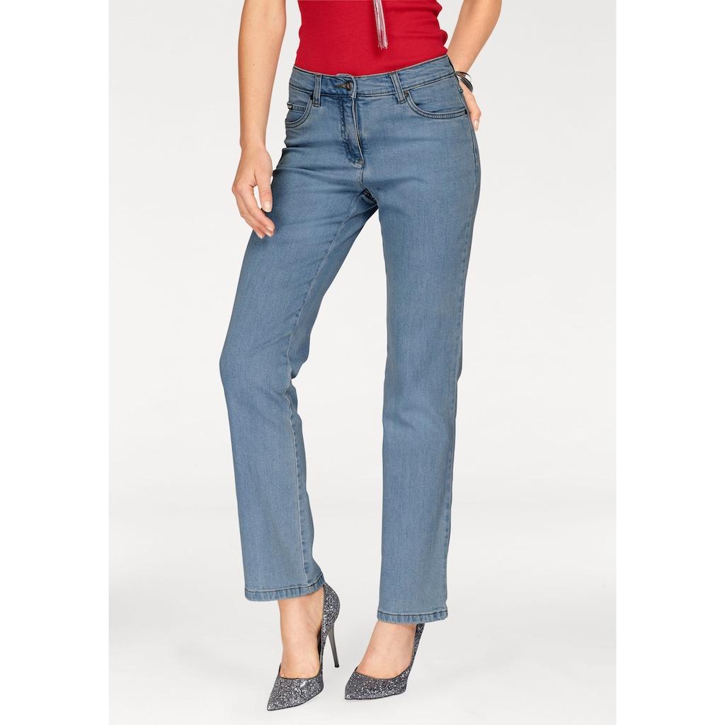 Arizona Gerade Jeans »Annett«, High Waist