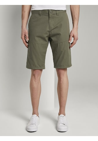TOM TAILOR Shorts »Funktionale Josh Regular Slim Bermuda-Shorts« kaufen