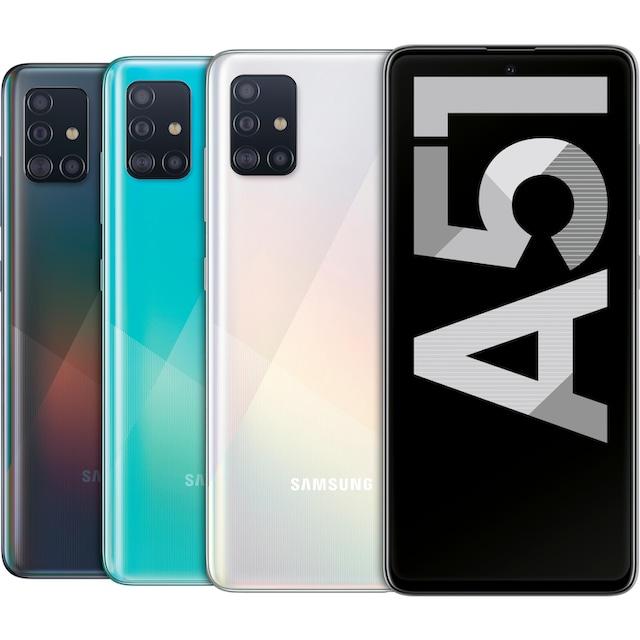 Samsung Galaxy A51 Smartphone (16,4 cm / 6,5 Zoll, 128 GB, 48 MP Kamera)
