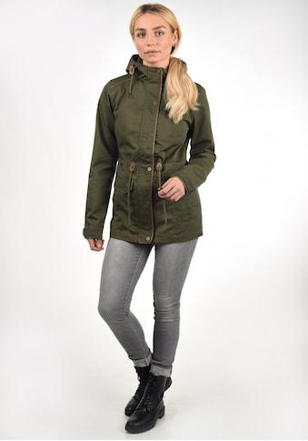 DESIRES Langjacke »Anja«, Übergangsjacke mit hochabschließendem Kragen kaufen