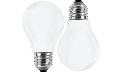 BLULAXA LED-Filament »Retro Multi«, E27, 10 St., Warmweiß, 10er-Set, Promotion-Pack Birnenform, Filament, opal kaufen