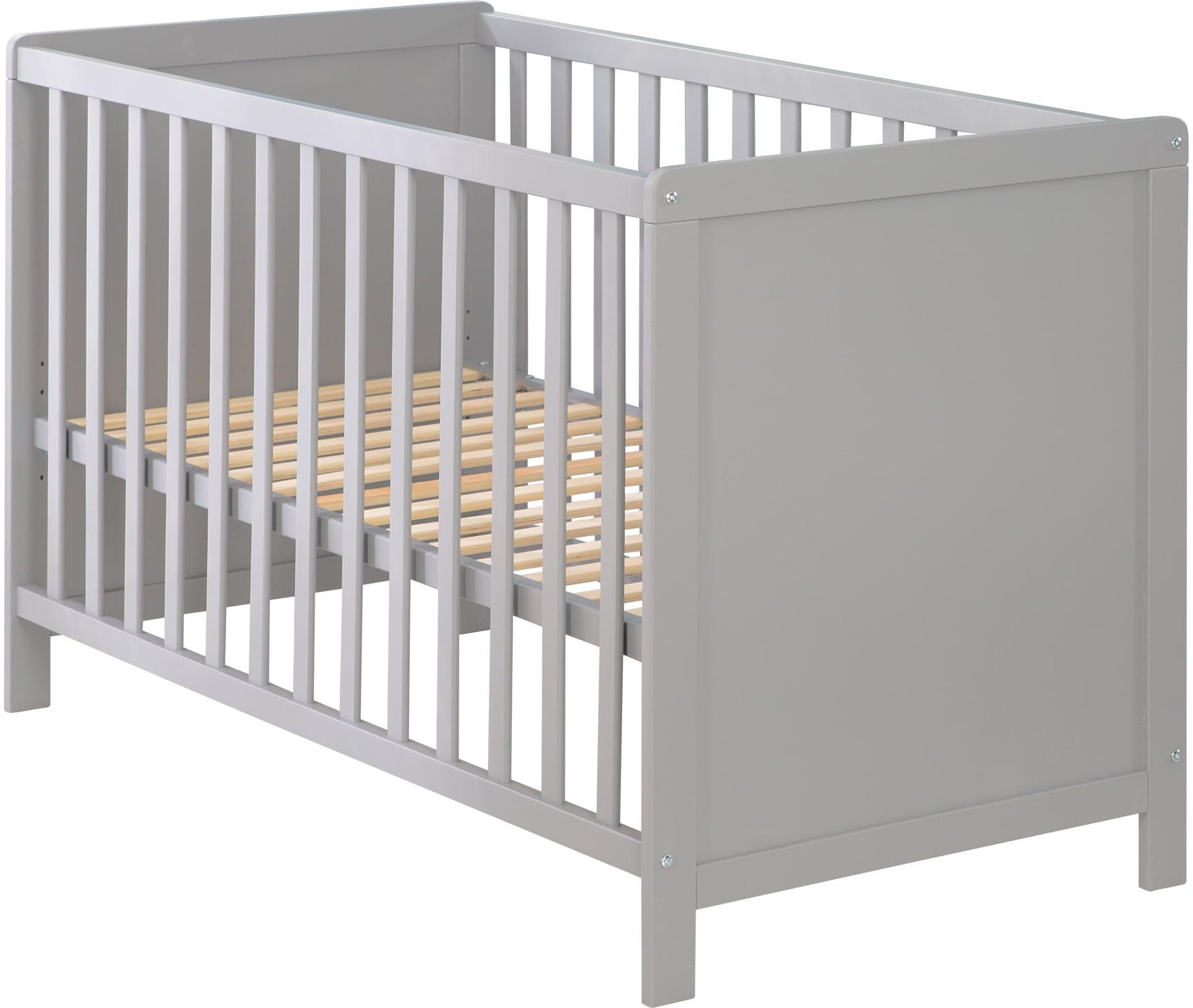 roba Beistellbett 60x120 cm Universal, taupe grau Baby Beistellbetten Babybetten Babymöbel