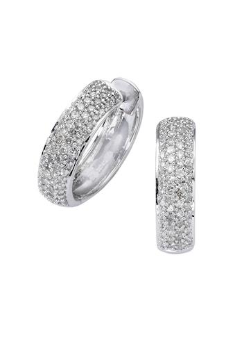 Diamonds by Ellen K. Creolen »585/ -  Weißgold Diamant 0,50ct.« kaufen