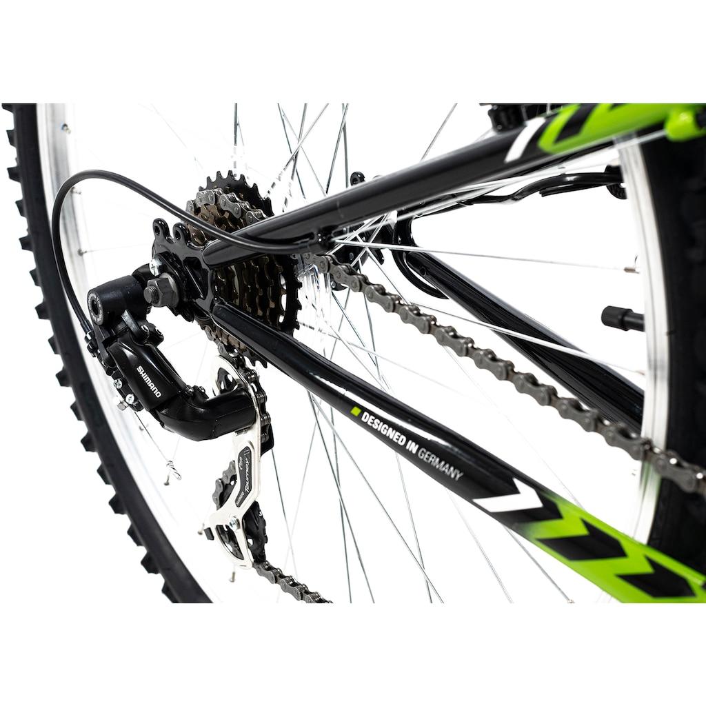 KS Cycling ATB »Zodiac«, 21 Gang, Shimano, Tourney Schaltwerk, Kettenschaltung