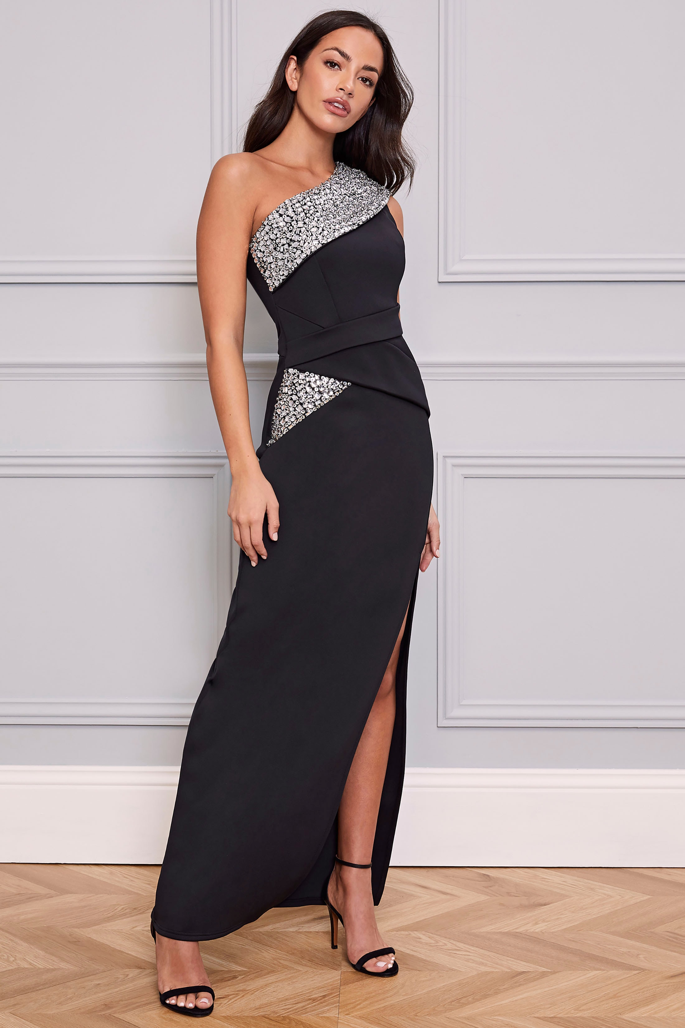 lipsy -  Abendkleid, mit glänzenden Pailletten