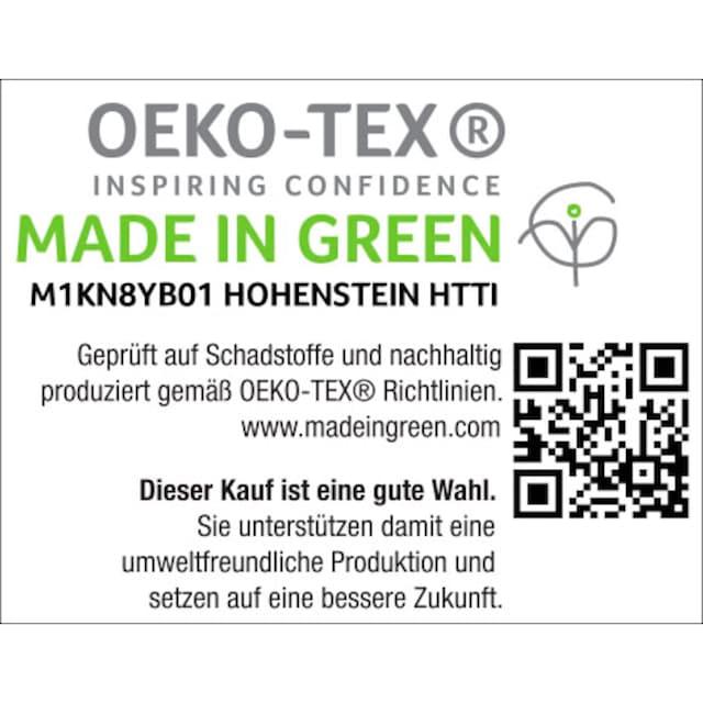 Wendebettwäsche »Dark Green«, BIERBAUM
