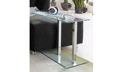 HAKU Beistelltisch, in moderner Glasoptik kaufen