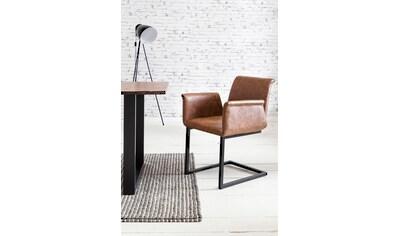 SalesFever Esszimmerstuhl, mit ausgestellten Armlehnen, im 2er_Set kaufen