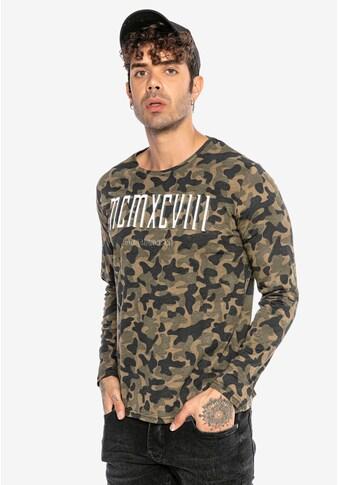 RedBridge Sweatshirt »Elgin«, mit großem Frontprint kaufen