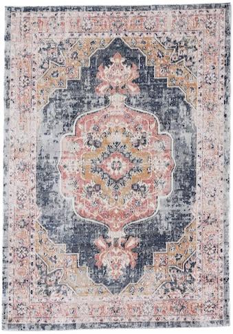 carpetfine Teppich »Omen_4«, rechteckig, 3 mm Höhe, Orient Vintage Look kaufen