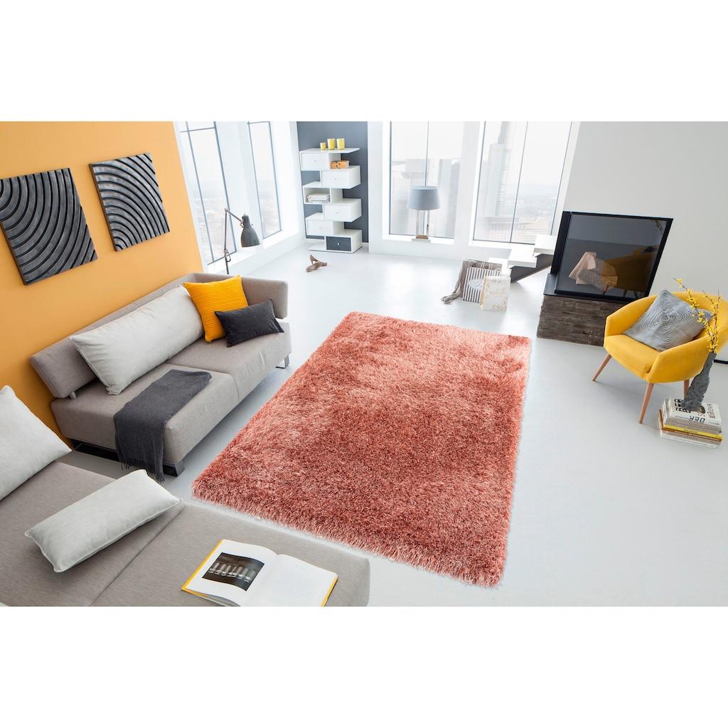 my home Hochflor-Teppich »Amadeo«, rechteckig, 73 mm Höhe, besonders langer Flor, Wohnzimmer