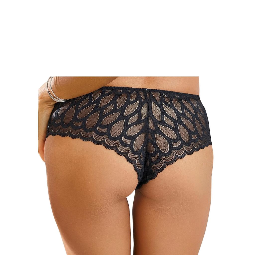 LASCANA Panty, aus leicht transparenter Spitze