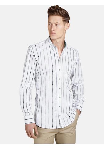 SHIRTMASTER Langarmhemd »thepainter«, Streifen wie Wasserfarbe kaufen