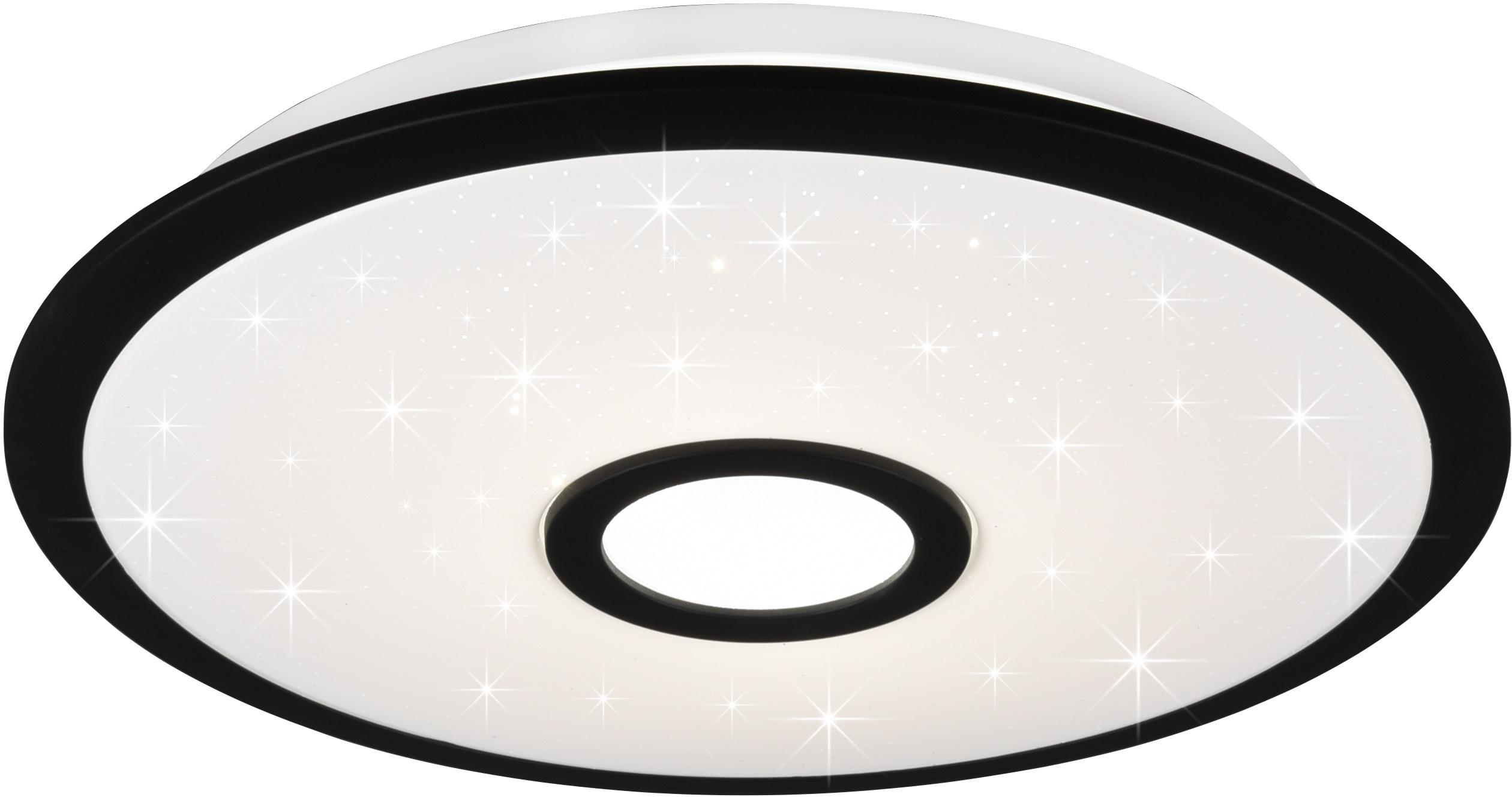 TRIO Leuchten LED Deckenleuchte Okinawa, LED-Modul, Farbwechsler