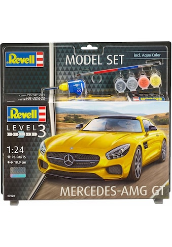 Revell® Modellbausatz »Model Set, Mercedes-AMG GT«, (Set), 1:24, Made in Europe kaufen
