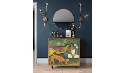 Places of Style Kommode »Arearea«, mit dekorativem Print auf den Türen kaufen