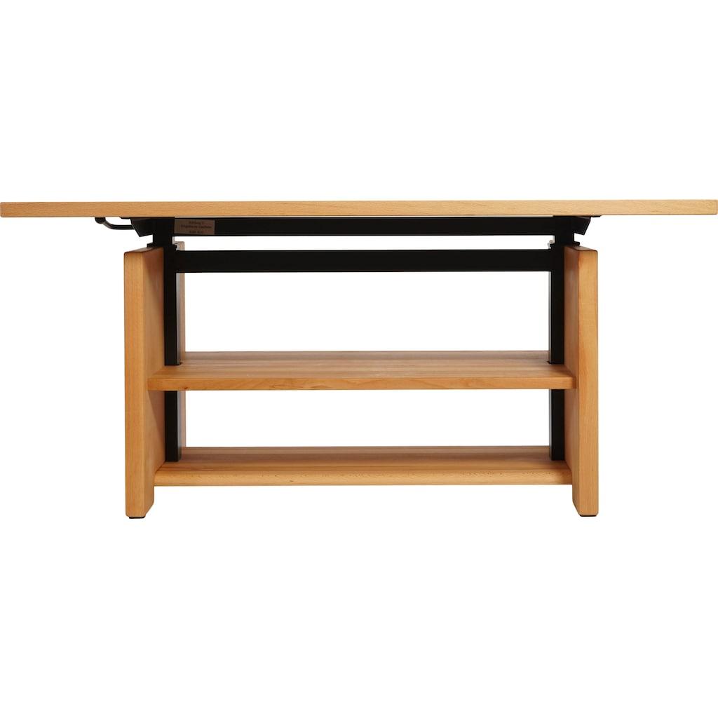 DELAVITA Couchtisch »Richart«, Höhenverstellbar auf 70 cm, Breite 110 cm