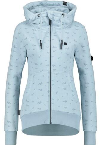 Alife & Kickin Sweatshirt »YasminAK B«, sportive Sweatjacke mit Kapuze und Alloverprint kaufen