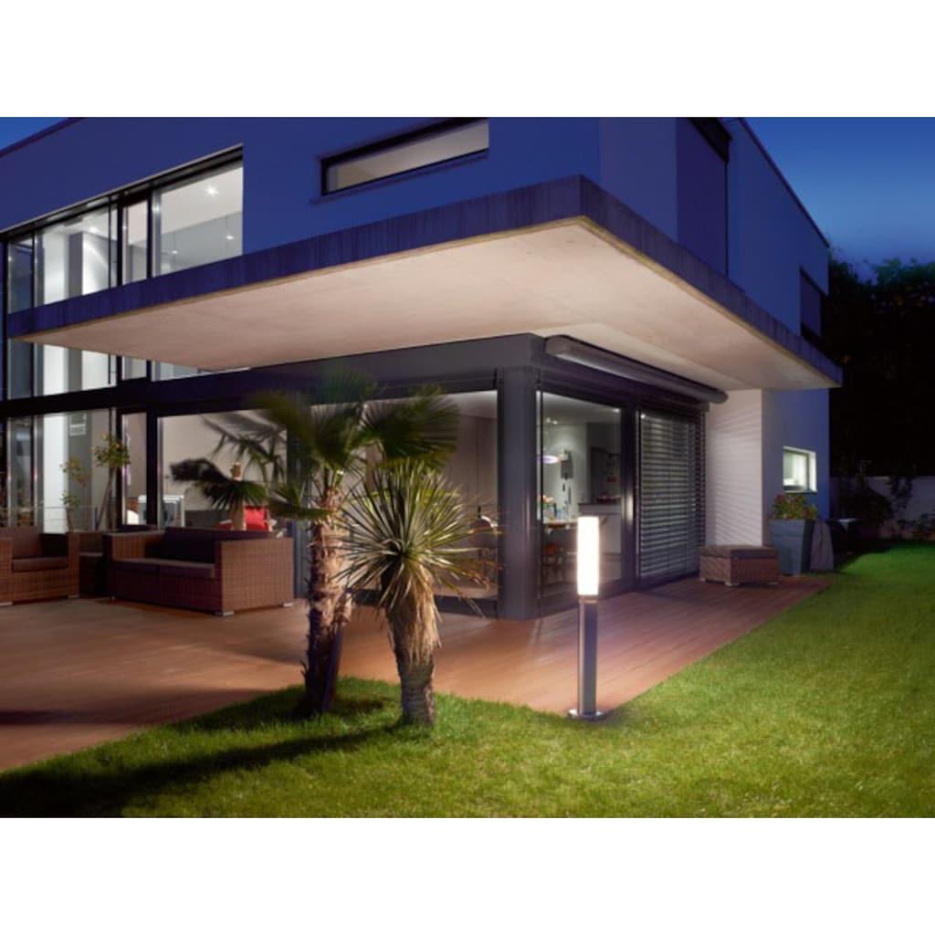 steinel Außen-Stehlampe »GL 60«, E27, 1 St., Warmweiß, 360° Bewegungsmelder, Opal Glas, Höhe wählbar