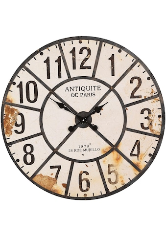 Ambiente Haus Wanduhr »Antiquite Wanduhr 80cm« kaufen