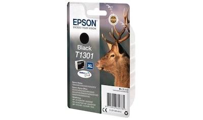 Epson »T1301 Original Schwarz C13T13014012 XL« Tintenpatrone kaufen