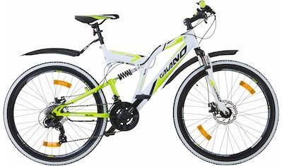 Galano Mountainbike »Volt DS«, 21 Gang Shimano Tourney Schaltwerk, Kettenschaltung kaufen