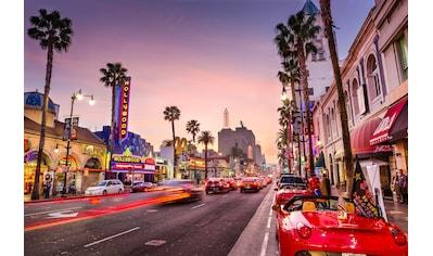 Papermoon Fototapete »Hollywood Boulevard«, Vliestapete, hochwertiger Digitaldruck kaufen